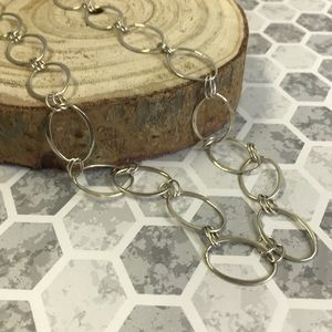 RLM Silver Link Necklace